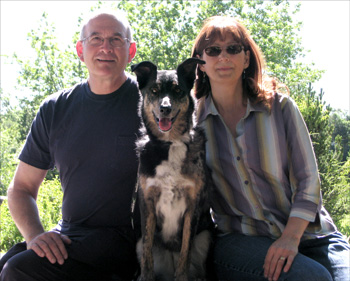 Murry, Julie and Dog Maggie